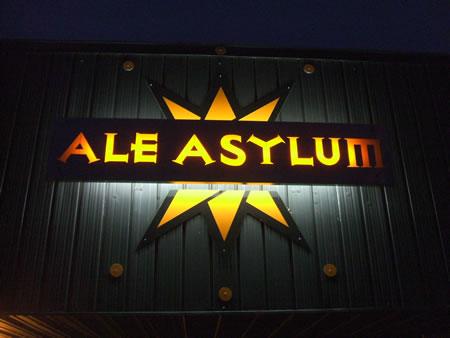 Ale Asylum sign