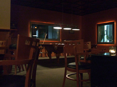Ale Asylum dining room/pool area
