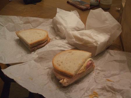 Sandwich from Alex Polish American Deli
