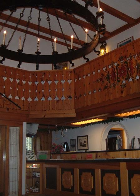 Chalet Landhaus lobby