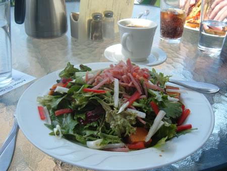 Creamery Cafe salad