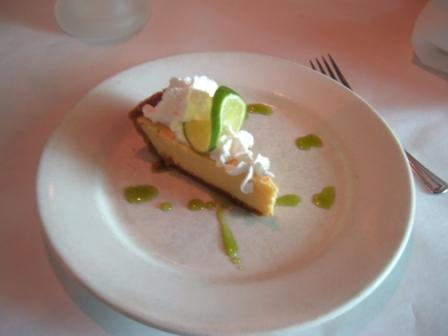 Fyfe's key lime pie