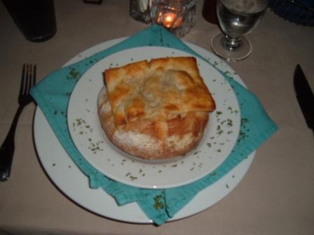 George's Chophouse pot pie