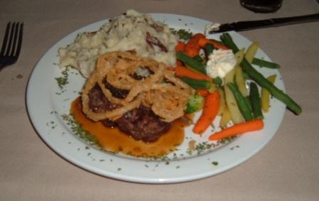 George's Chophouse steak