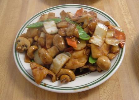 Great China chicken and mushrooms