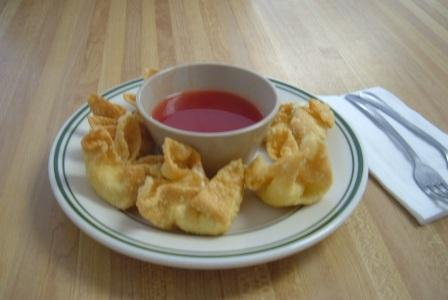 Great China crab rangoon