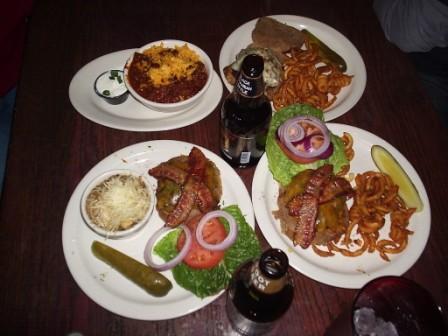 Hawk's Bar food